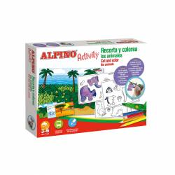 JGO. ALPINO ACTIVITY RECORTA Y COLOREA ANIMALES