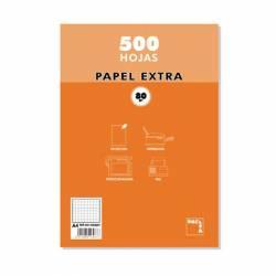 PAPEL A4 80G PACSA CUADROS 6X6 500H