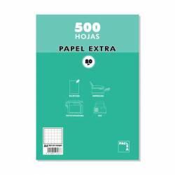 PAPEL A4 80G PACSA CUADROS 8X8 500H
