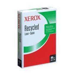 PAPEL MULTIFUNCION XEROX RECICLADO A4 INKJET LASER FOTOCOPIA 80G 500H LISO BLANCO PAQUETE 500H