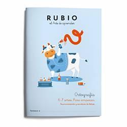 CUADERNO RUBIO ORTOGRAFIA 1