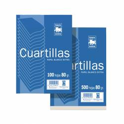 CUARTILLAS 822 80G 100H