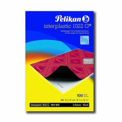 PAPEL CARBON INTERPLASTIC Fº C/100U