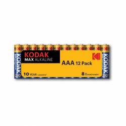 PILAS ALCALINAS KODAK MAX LR03/AAA BL/12U