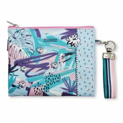 BOLSO DE MANO MAKE NOTES + LLAVERO FOLIAGE