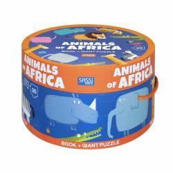 PUZZLE 30 P. SASSI ANIMALES DE AFRICA