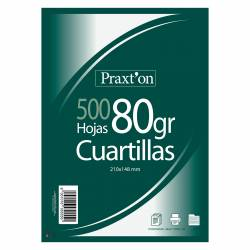 CUARTILLAS PRAXTON 80G 500H