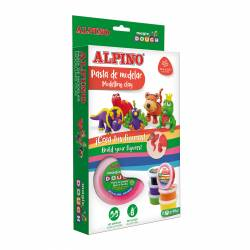 ALPINO MAGIC DOUGH 6X40G FUNNY ANIMALS