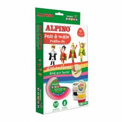 ALPINO MAGIC DOUGH 6X40G SUPER HEROES