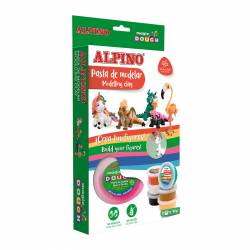 ALPINO MAGIC DOUGH 6X40G FANTASY ANIMALS
