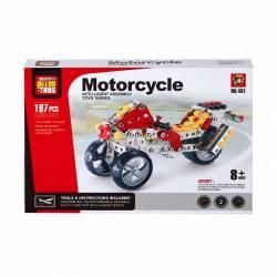 JGO. MECANO METAL MOTOCICLETA 197P LB-3261