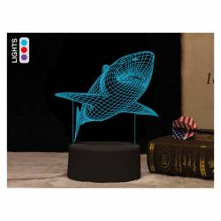 LAMPARA LED I-TOTAL GIFT 3D UNICORNIO CM3328