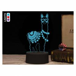 LAMPARA LED I-TOTAL GIFT 3D DINOSAURIO CM3327