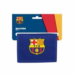 BILLETERA SAFTA 9,5X12,5 F.C. BARCELONA 2ª E. 812025036