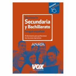 DICC. VOX DE SECUNDARIA LENGUA ESPAÑOLA