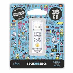 MEMORIA (++) USB 2.0 TECHONETECH 16GB NO ES TUYO