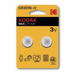 PILAS BOTON KODAK LITIO CR2016 BL/2U