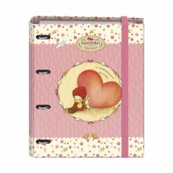 CARPEBLOC A4 4A/35 100H DOHE SANTORO POPPI LOVES HEART 50936