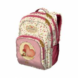 MOCHILA DOHE 35X27 SANTORO POPPI LOVES HEAR 50948