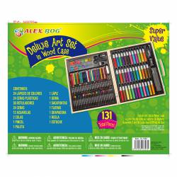 MALETIN DIBUJO SET ART STUDIO PINTURA 131P JC-1062