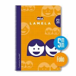 BLOC Fº 80H ESPIRAL LAMELA 5MM P/10U