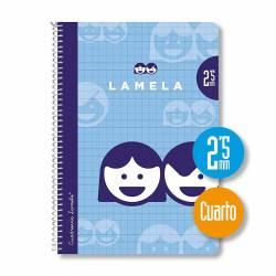 BLOC 4º 40H ESPIRAL LAMELA 2'5MM P/10U