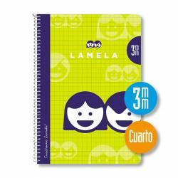 BLOC 4º 40H ESPIRAL LAMELA 3MM P/10U