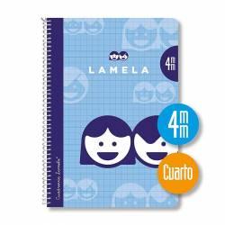 BLOC 4º 40H ESPIRAL LAMELA 4MM P/10U
