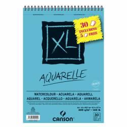 BLOC ACUARELA CANSON XL ESP. MIC. A4 300G 25+5H