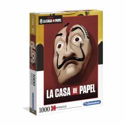 PUZZLE 1000P CLEMENTONI NETFLIX LA CASA DE PAPEL