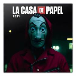 CALENDARIO PARED ERIK LA CASA DE PAPEL 30X30
