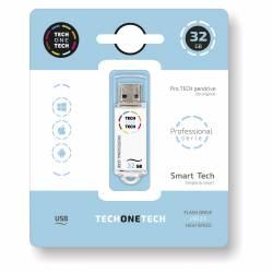 MEMORIA (++) USB 2.0 TECHONETECH 32GB BLANCA