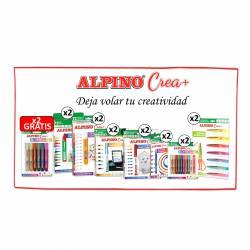LOTE ALPINO CREA+ 2UD GLITTER GLUE6 GRATIS