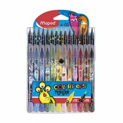 COMBO PACK MAPED MONSTER 12 ROTULADORES + 15 LAPICES