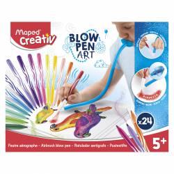 BLOWPEN ART MAPED CREATIV LA CAJA DE 24 COLORES
