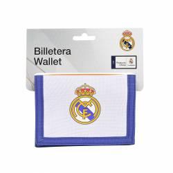 BILLETERA SAFTA R. MADRID 1ª E. 12154 9,5X12,5