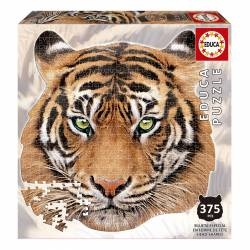 PUZZLE 375P EDUCA SPECIAL SERIES ANIMAL FACE SHAPED TIGRE