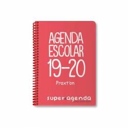 AG. ESC. PRAXTON ESP. 8º D/P PP ROJA