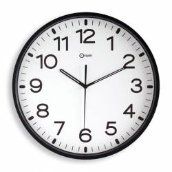 RELOJ DE PARED ANALOG. CE11679 NEGRO
