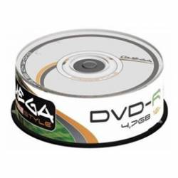 CD-R (++) OMEGA 52X 700MB/80MIN TARRINA 25U