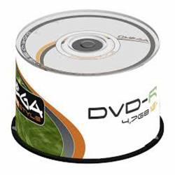 DVD-R (++) OMEGA 16X 4.7GB TARRINA 50U