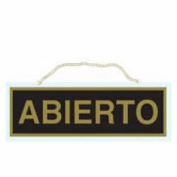 CARTEL 'ABIERTO-CERRADO' METACRILATO 111