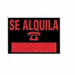 CARTEL 'SE ALQUILA' 700X500 209