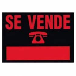 CARTEL 'SE VENDE' 208 500X350 P/5U