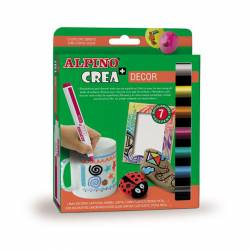 ROTULADOR ALPINO CREA DECOR 7R