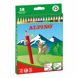 LAPIZ COLOR ALPINO 656/18L C/12U
