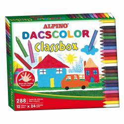 LAPIZ CERA DACSCOLOR SCHOOL PACK 288U
