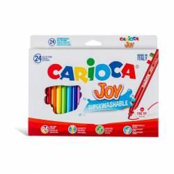 ROTULADOR CARIOCA JOY 24R PAQUETE 6UD