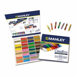 LAPIZ CERA MANLEY SCHOOL PACK 192U